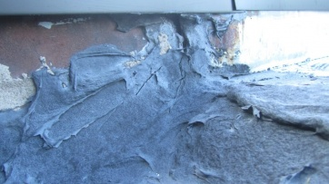 roof flashing unsealed leak water infiltration inspection